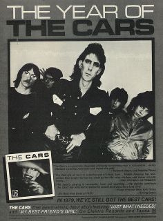 "1979 Ad, The Cars' Debut Album, ""The Cars"" 