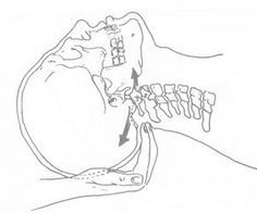 Craniosacral Therapy cranial base release and re-alignment of the a/o joint (cranial base and C1 vertebra)