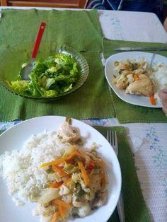 Almuerzo con la mamá