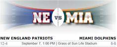 New England Patriots vs. Miami Dolphins NFL Preview #NEvsMia #Patriots #Miamidolphins #NewEngland #Boston #Dolphins #Miami