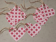Valentine Heart Gift Tags 8 Pack by LYHHandmadeGifts on Etsy Valentine Heart, Valentines, Love Your Home, New Shop, Gift Tags, String Bikinis, Packing, Trending Outfits, Unique Jewelry