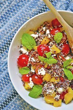 maistuu makialle: Punainen Quinoasalaatti