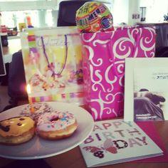 Geburtstagsüberraschung von den TWT Kollegen
