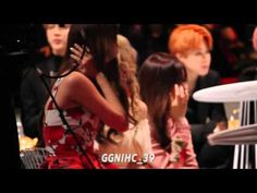 [Fancam] 151202 Girls Generation TTS Reaction to BigBang @ MAMA in Hong Kong