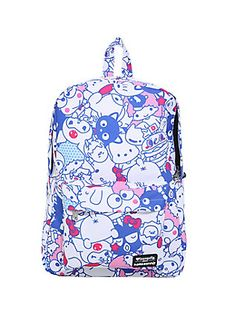 Loungefly Hello Sanrio Character Print Backpack, Hello Kitty Shoes, Hello  Kitty Bag, Hello c5323f1624