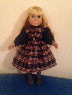 Plaid School Dress by TreasuresbyScira on Etsy