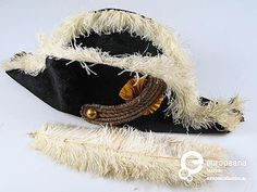 europeanafashionofficialHat belonging to the Amsterdam honour guard uniform by J.S. Meuwsen. 1983. Courtesy of Amsterdam Museum.