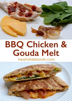 BBQ Chicken Gouda Melt Recipe. Your family will love this grilled sandwich!