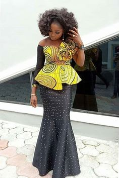 latest Ankara shirt and blouse styles – Reny styles – African Fashion Dresses - African Styles for Ladies African Fashion Designers, Latest African Fashion Dresses, African Inspired Fashion, African Dresses For Women, African Print Dresses, African Print Fashion, Africa Fashion, African Attire, African Wear