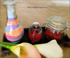 DIY decoración con Sal de Colores
