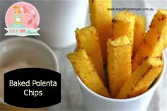 Baked Polenta Chips | Stay at Home Mum