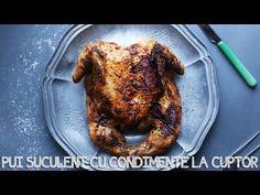 PUI SUCULENT CU CONDIMENTE LA CUPTOR I Rețetă + Video – Valerie's Food Tandoori Chicken, Ethnic Recipes, Youtube, Food, Essen, Meals, Youtubers, Yemek, Youtube Movies