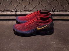 b0c0945de1 Nike Air VaporMax FK 2 | 'Olympia' Red/Blue/Gold | Mens Trainers [942842-604 ]