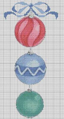 Christmas Ornaments Chart