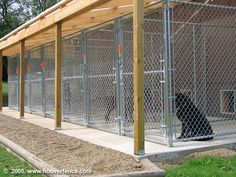 HFC Dog Kennel Installation Photos You are in the right place about Dog Kennel interior Here we offe Dog Kennel Cover, Diy Dog Kennel, Kennel Ideas, Dog Kennels, Dog Kennel Outside, Outside Dogs, Puppy Playground, Building A Dog Kennel, Dog Boarding Kennels