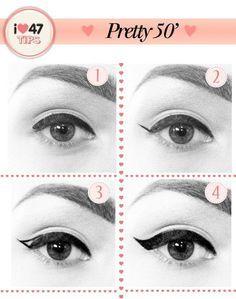 '50s eyeliner