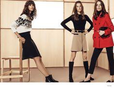 Mango Offers Casual Fall Update with Zuzanna, Anais, Antonina + Josephine