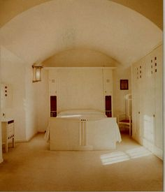 Guest Bedroom, Hillhouse  Designer: Charles Rennie Mackintosh, 1869-1928  1902-4  Helensborough
