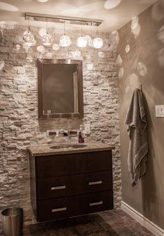 Modern Half Bath / Powder Room