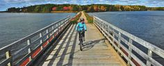 7 Scenic Trails to Cycle This Fall   The Great Trail