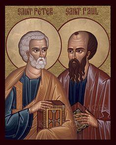 Hoy estamos de Fiesta celebrando con gozo y alegría la  solemnidad de los #SantosPedroYPablo, encomiendo a estos dos grandes  santos a todo la OP y a mis hermanos aspirantes, #AnoDeLaVidaConsagrada.