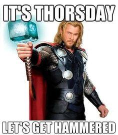 Let's get hammered! #thorsday #thursday