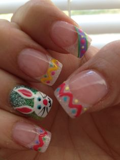 Easter nails by Krizma Nails