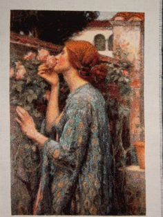 The Soul of the Rose, Golden Kite Cross Stitch Pattern stiched by Ljudmila oh I need to get started on something this beautiful Kite, Cross Stitch Patterns, Needlework, It Is Finished, Embroidery, Photos, Painting, Beautiful, Ideas