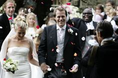 Pin for Later: You Won't Be Able to Stop Scrolling Through These Gorgeous Summer Weddings Tom Parker Bowles and Sara Buys Prince Harry and Prince William's stepbrother, Tom, married Sara in the UK in September 2005.