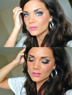 Beautiful eyelook and make-up