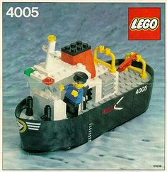 Lego Tug boat (1982)