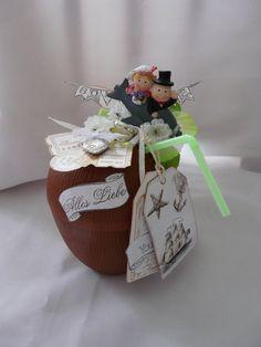 Geldgeschenk zur Hochzeit von Plan B auf DaWanda.com