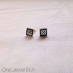 Earring PANOT of sterling silver 925