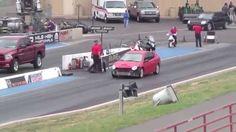 Драг Рейсинг Додж Неон и Додж Рам Drag Race Dodge Neon SRT4 vs Dodge Ram