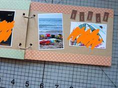 ポストカードとマステを使って ミニアルバム#1 | 簡単手作りカード Chocolate Card Factory