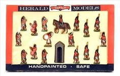 robin hood toy soldiers | Britains Herald 7109 Highlanders