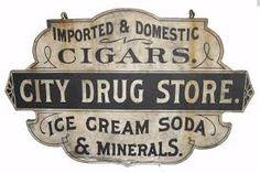 Resultado de imagen de american retro signs
