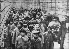 Here is a photo of what some of the women and children went through during the holocaust. its very unfortunate that the mass majority of them did not survive.