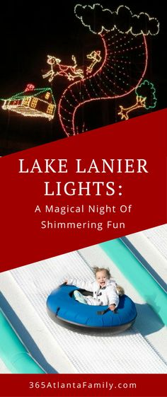 You don't want to miss The Magical Night of Lights at Lake Lanier Islands Resort in Buford, Georgia. This event is perfect for kids, for teenagers, and fun for the whole family. Give them the gift of an experience they will never forget. The trees, the lights, and the activities at this event will get you in the holiday spirit! #Christmas #events #Georgia #Kids #holidays #family #lights