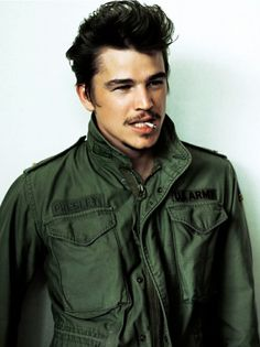 Josh Harnett...always been my heart throb. Minus the moustache and cigarette