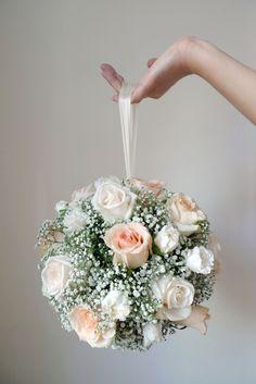 pomander bridal bouquet