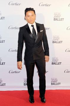 Prabal Gurung at the New York City Ballet 2015 Fall Fashion Gala