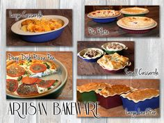 Artisan Bakeware by Emerson Creek Pottery | Safe for your Family & Made in America