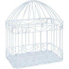 Wilton Bird Cage Style Gift Card Holder, White - Walmart.com