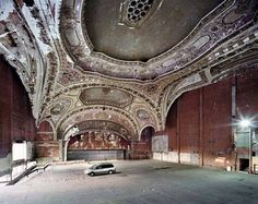 We have all heard about the economic decline of the storied Motor City, but Yves Marchand and Romain Meffre capture the decaying beauty of its buildings' grand interiors with compassion and a respect for eras past.