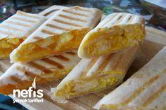 Kahvaltılık Yumurtalı Lavaş Dürümü (breakfast egg burrito) - Nefis Yemek Tarifleri