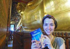 Wat Pho Buda inclinado