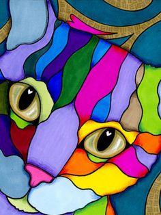 Dot Painting, Fabric Painting, Watercolor Paintings, Easy Paintings, Animal Paintings, Reclaimed Wood Art, Africa Art, Abstract Drawings, Arte Pop
