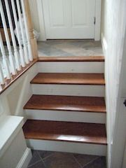 Best Wood Floor Installation At Top Of Stairs Flooring Diy 400 x 300