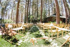 Big Bear Forest Wedding at the Inn At Fawnskin from Ashley Durham Studios | Southern California Bride